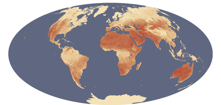 Finding the Hottest Spots on Earth by Satellite