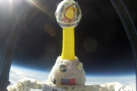 Rubber Chicken in Space
