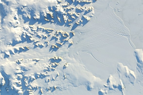 Sunny Skies over the Antarctic Peninsula - selected image