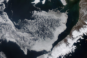 Sea Ice in Alaska's Bristol Bay