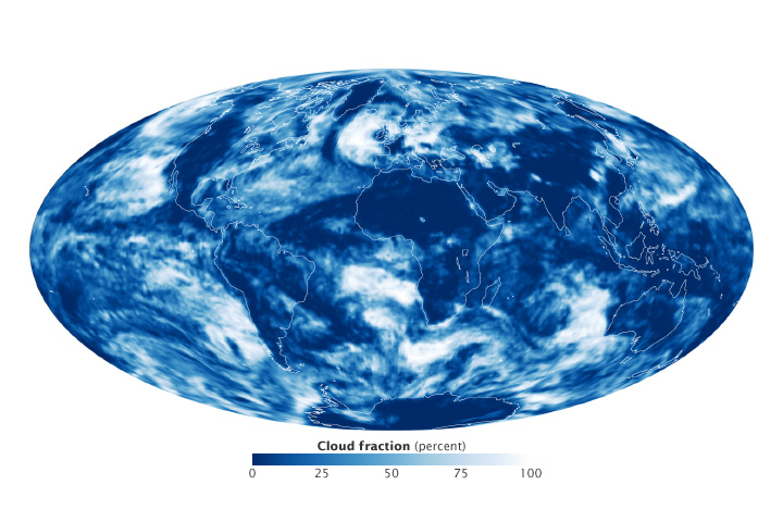CERES Global Cloud Fraction - related image preview