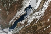Ice Melting on Lake Baikal