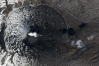 Plume from the Karymsky Volcano