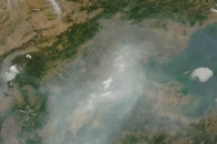 Haze Over Northern China