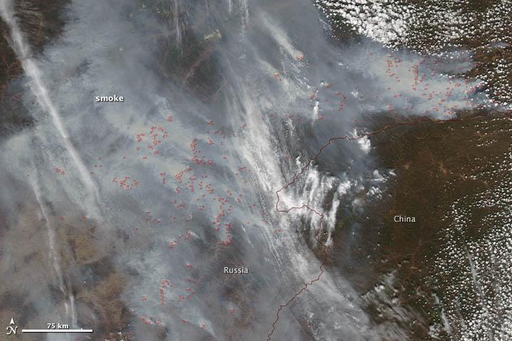 Haze Over Northern China