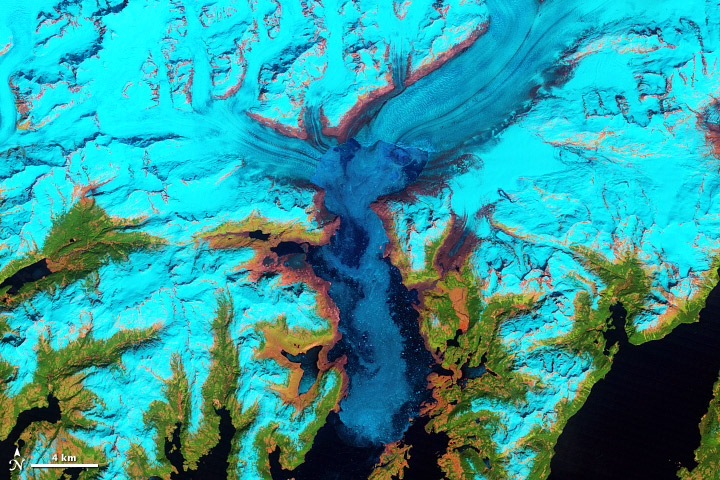 Retreat of Alaska's Columbia Glacier - related image preview