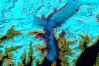 Retreat of Alaska's Columbia Glacier
