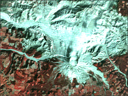 Eruption of Mount St. Helens - selected image