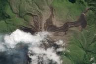 Fresh Lava Flow on Bagana Volcano