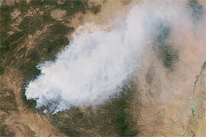 Fire in New Mexico