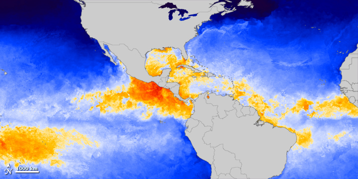 State of the Sea at the Start of Hurricane Season