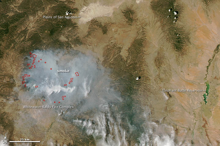 Whitewater-Baldy Fire in New Mexico