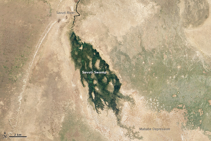 Not Your Usual Flooding in Botswana