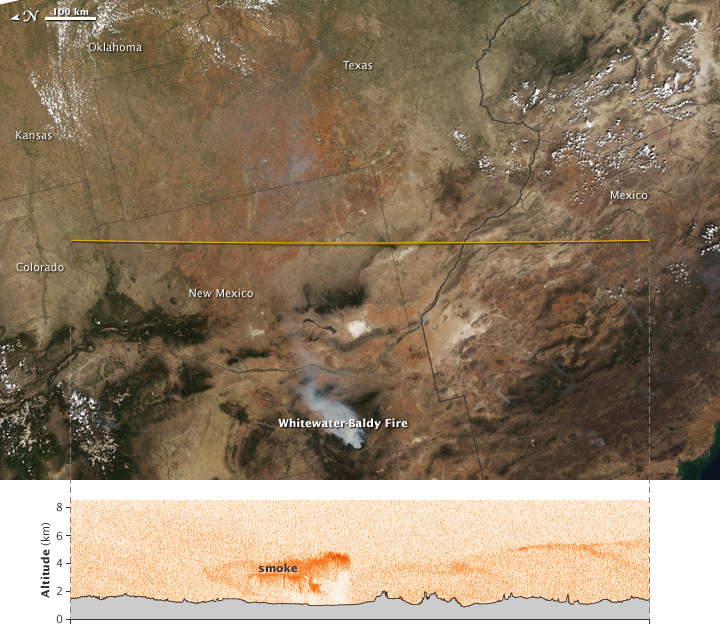 Whitewater-Baldy Fire in New Mexico - related image preview