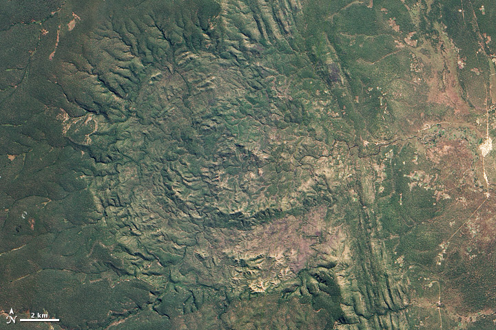 Luizi Crater, Democratic Republic of the Congo