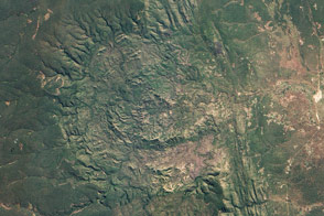 Luizi Crater, Democratic Republic of the Congo