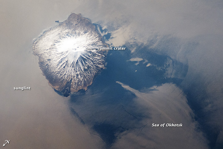 Alaid Volcano, Kuril Islands, Russian Federation