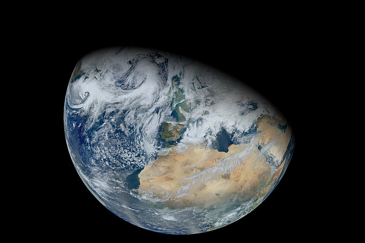 Nasa Visible Earth North Africa And Europe From Suomi Npp