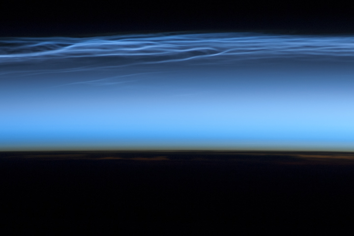 Polar Mesospheric Clouds, Northern Hemisphere