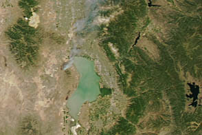 Dump Fire in Utah