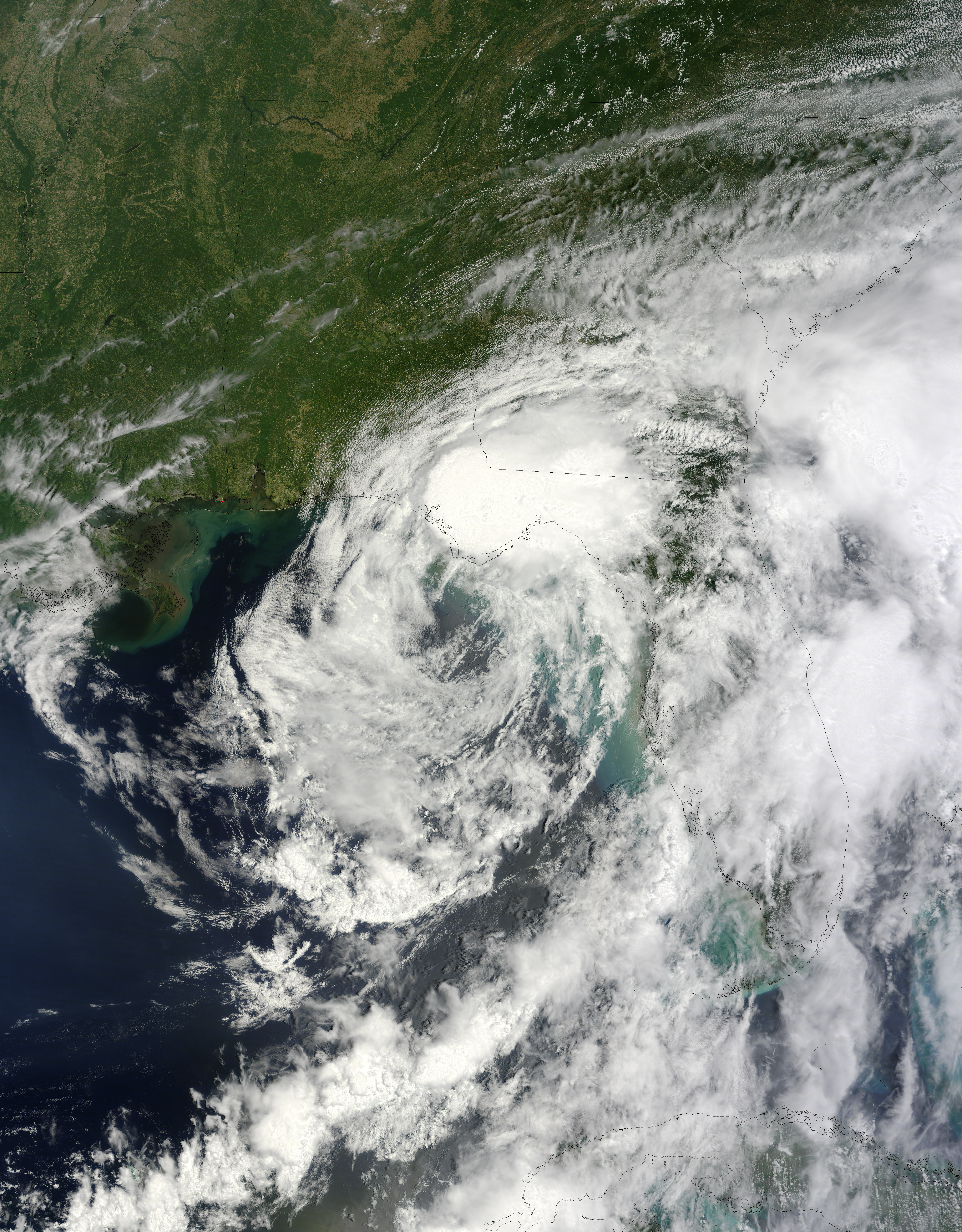Tropical Storm Debby : Natural Hazards
