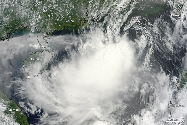 Tropical Storm Doksuri