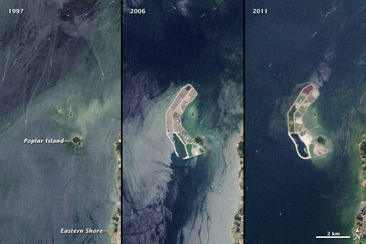 A Disappearing Island Restored