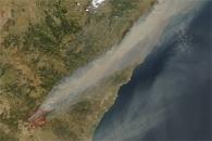 Fires in Eastern Spain