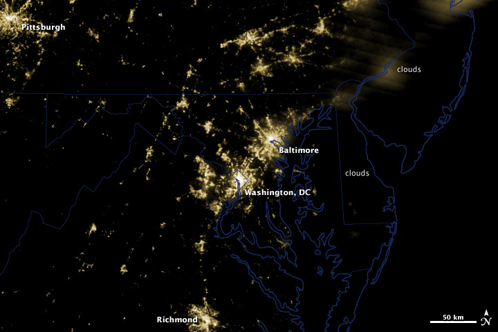 Power Outages in Washington, DC Area