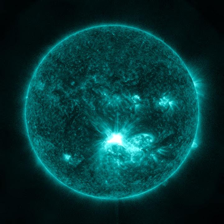 The Sun Erupts