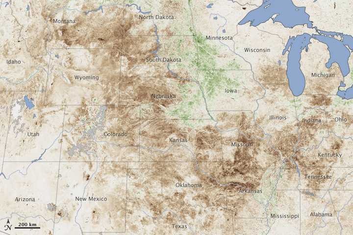 Drought Grips the United States