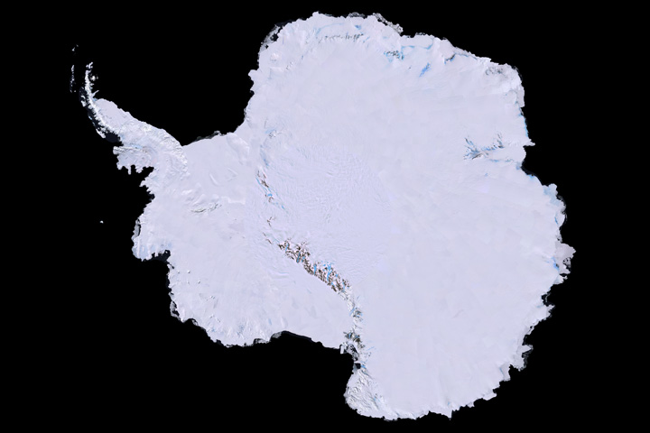 Landsat Image Mosaic of Antarctica - related image preview