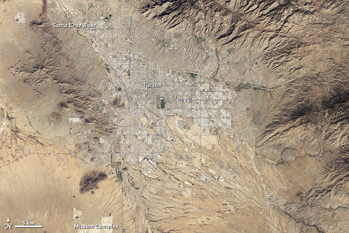 More City, Less Green in Tucson, Arizona