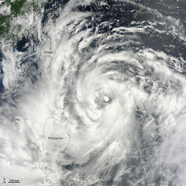 Typhoon Saola