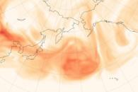 Dust Dominates Overseas Aerosol Imports to North America