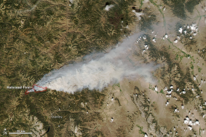 Halstead Fire, Idaho