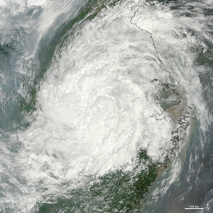 Haikui Remnants over Eastern China