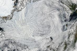 2012 Arctic Cyclone