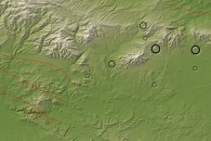 Earthquakes near Tabriz, Iran