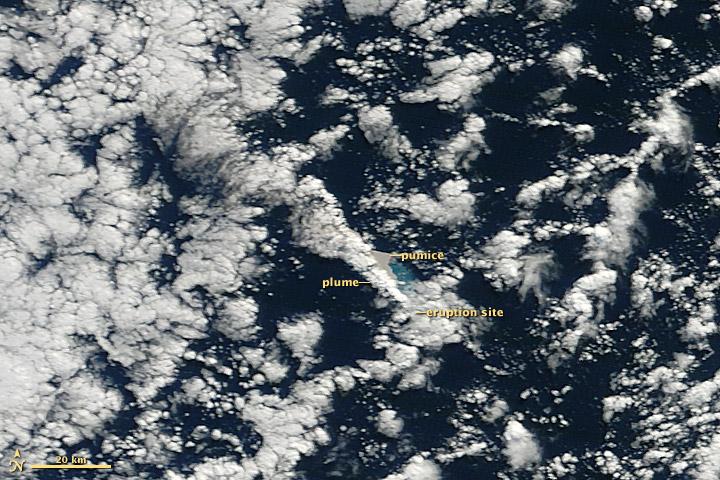 nasa satellites pinpoint volcanic eruption
