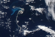 Pumice from Undersea Eruption Spreads across South Pacific