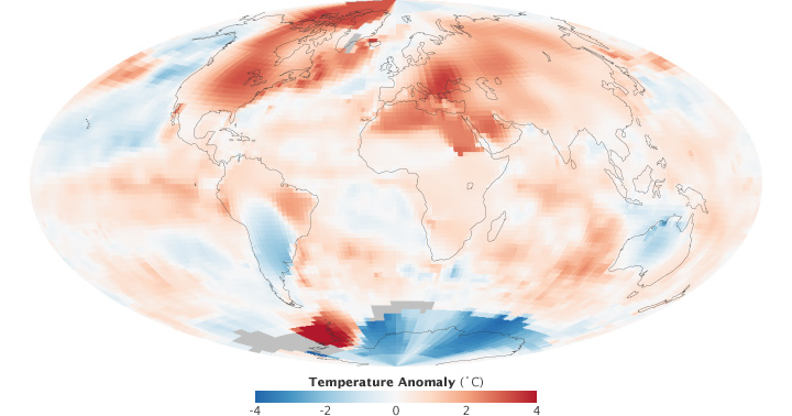 Mapping the Hot Summer
