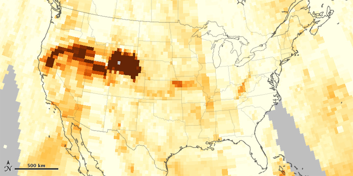 Wildfires Send Smoke Across the United States - related image preview