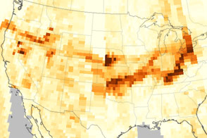 Wildfires Send Smoke Across the United States