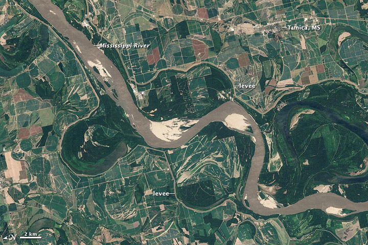 Mississippi River Well Below Normal