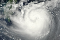 Typhoon Tembin Nears Taiwan