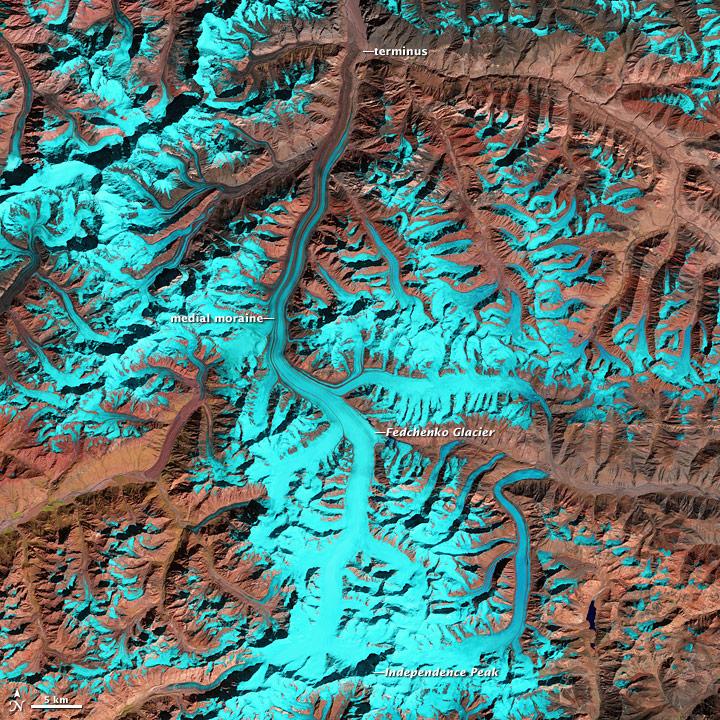 Fedchenko Glacier