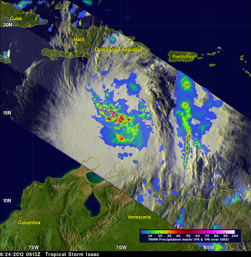 Tropical Storm Isaac Gains Energy - related image preview