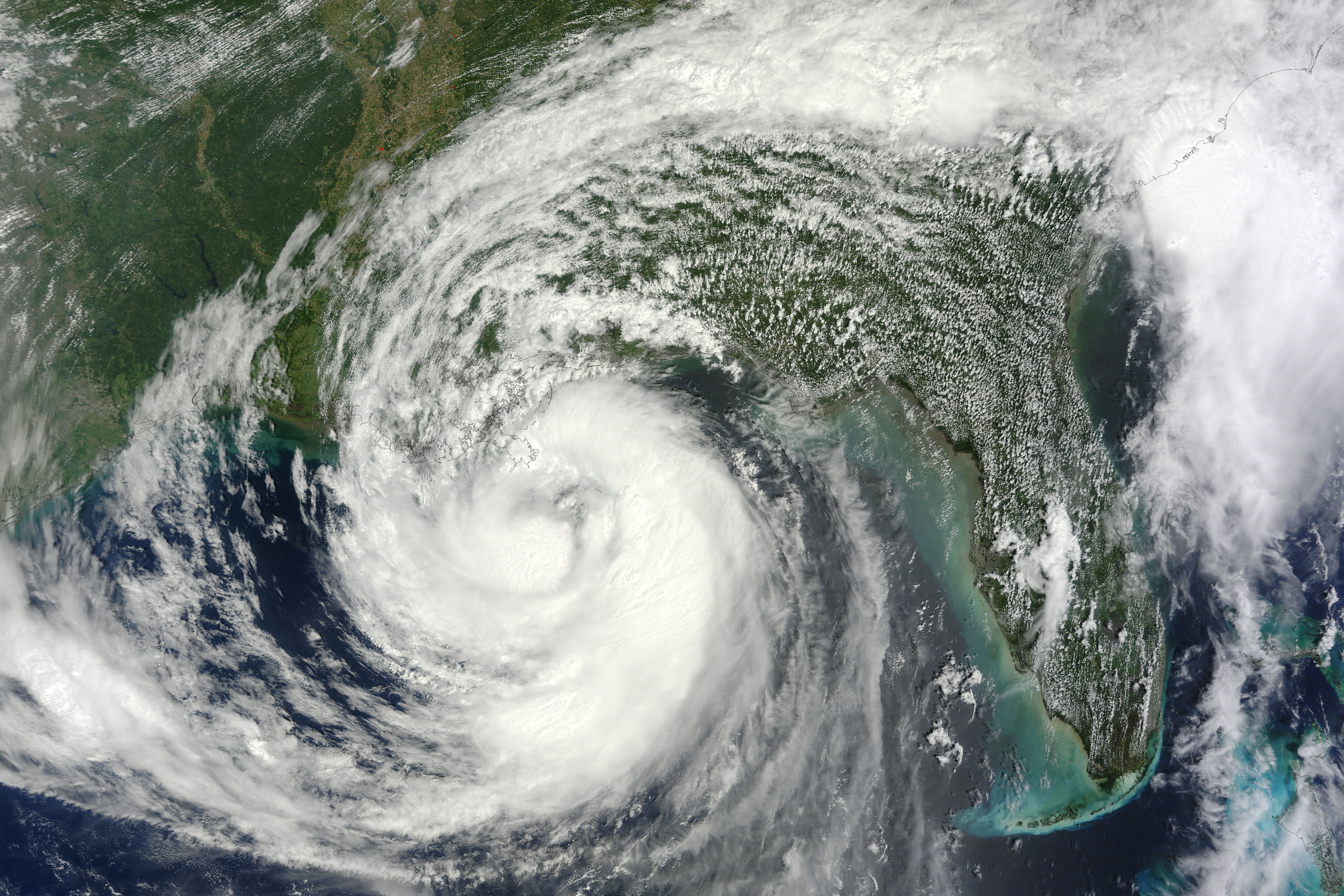 Hurricane Isaac : Image of the Day