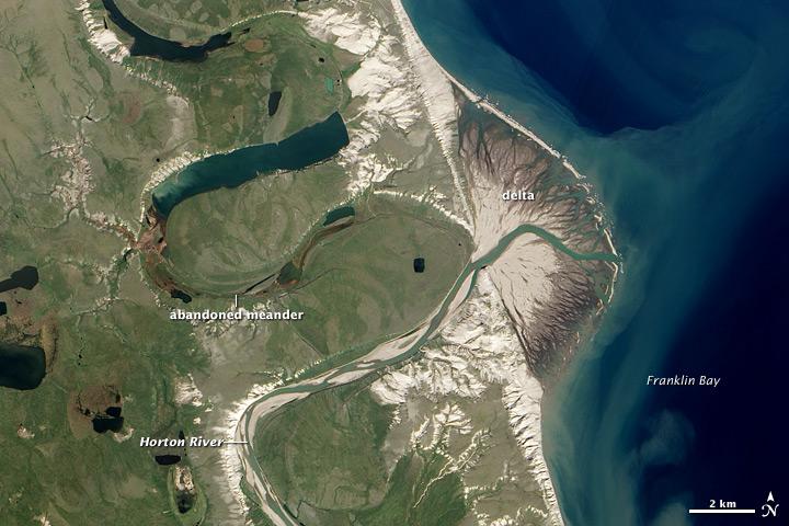 Horton River Delta, Arctic Canada